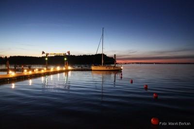 Marina Lester po zachodzie słońca