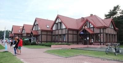 Budynek portu jachtowego
