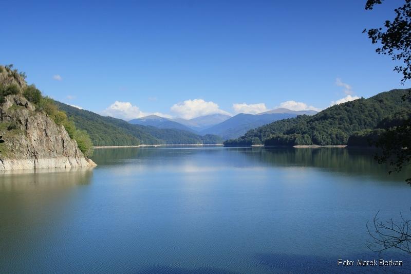 Droga Transfogaraska (7C) - jezioro Vidraru
