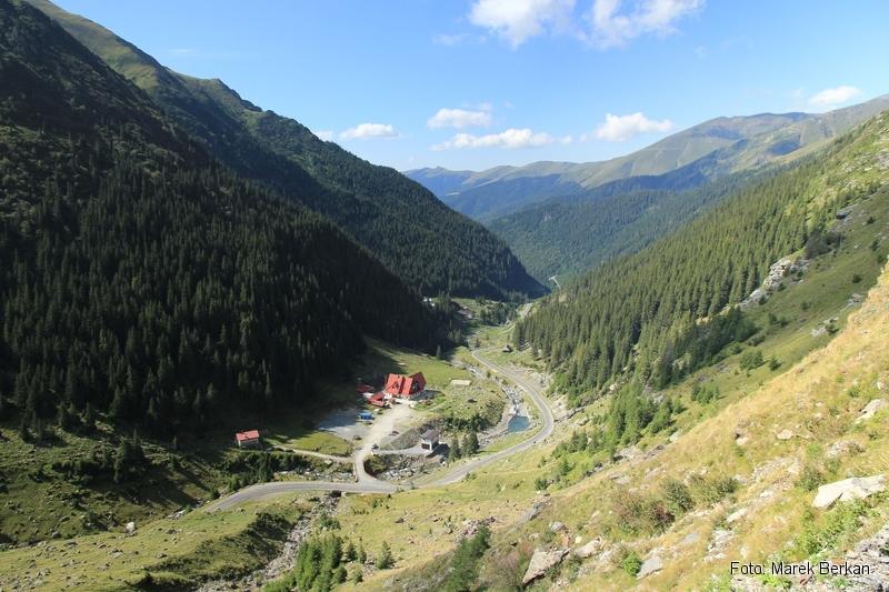 Droga Transfogaraska (7C) - podjazd pod przełęcz ze strony południowej