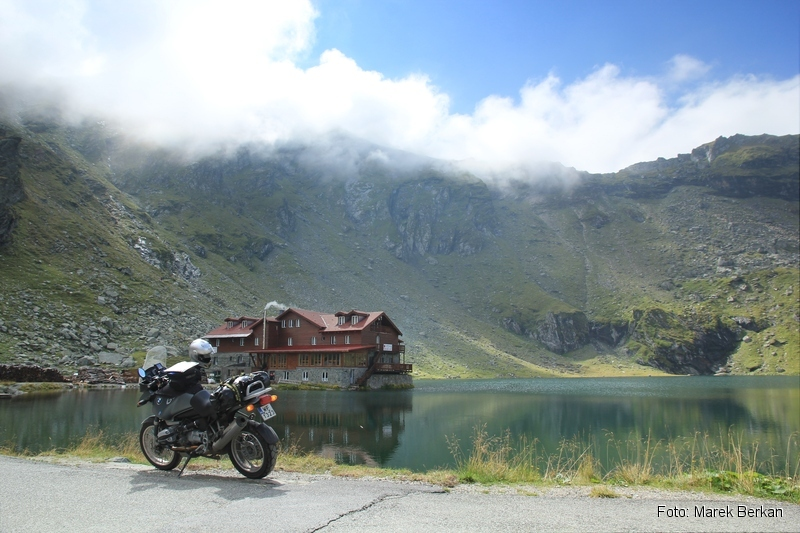 Droga Transfogaraska (7C) - jezioro Bâlea
