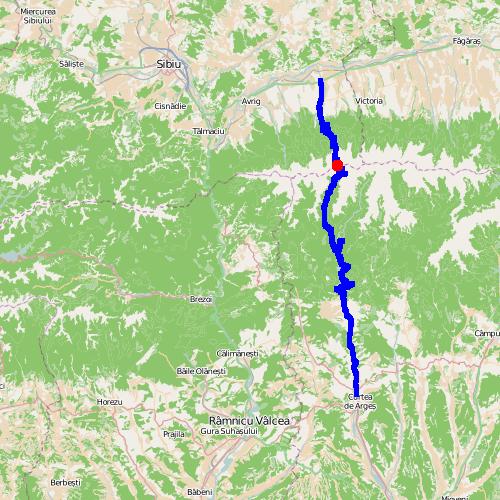 Droga Transfogaraska (7C) w Rumunii.