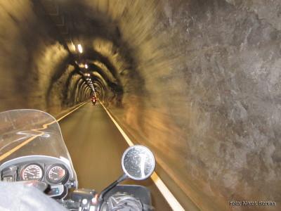 Tunel przy miejscowości Livigno