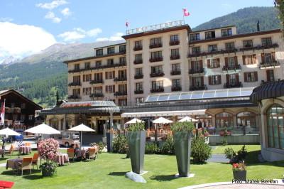 Hotel w Zermatt