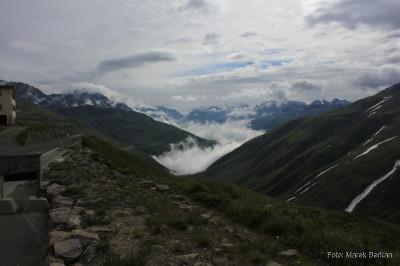 Przełęcz Furka (2436 m n.p.m.)