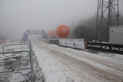 Jakuszyce - meta zawodów na 10 km