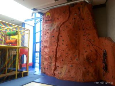 Ścianka wspinaczkowa dla dzieci Fit & Miś