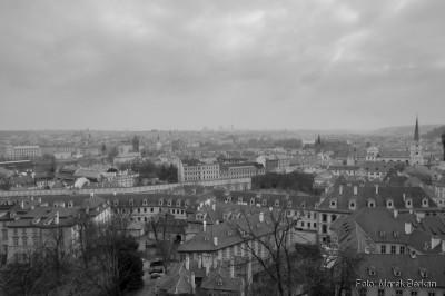 Praga - widok z Hradczan