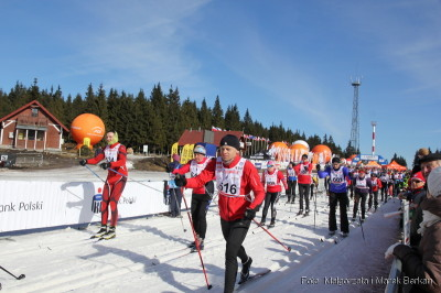 Bieg Piastów - start