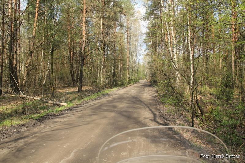 Droga Truskaw - Palmiry przez KPN (publiczna)