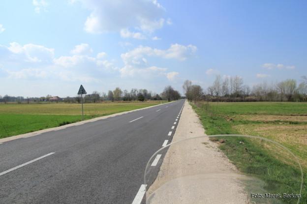 Droga 757, okolice Wilkowa Polskiego