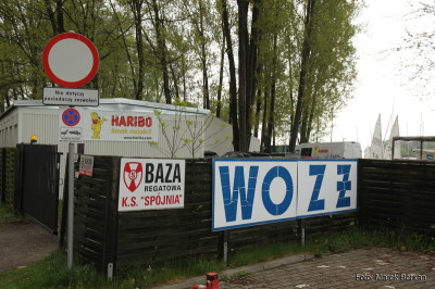 Baza regatowa KS Spójnia w Nieporęcie