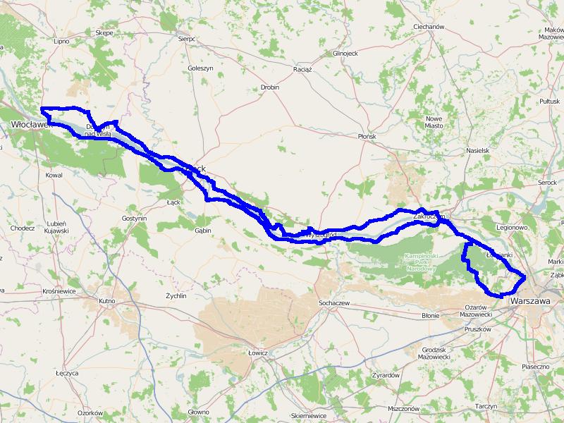 Ścieżka GPS