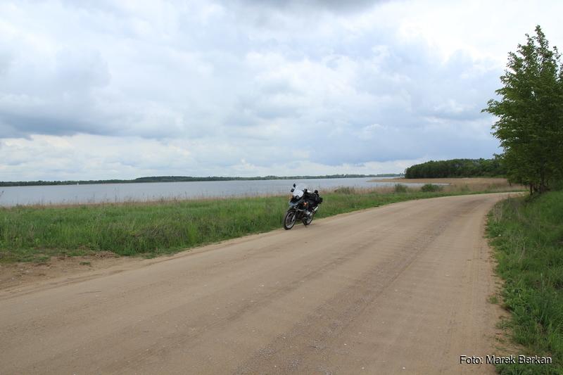 Okolice Starych Sadów, jezioro Tałty
