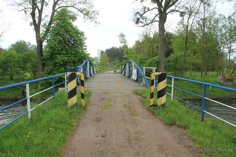 Most nad kanałem Tałckim