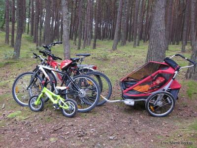 Rodzinny zestaw rowerowy