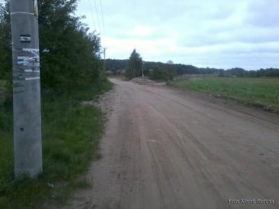 Droga z Karwińskich Błot do Ostrowa