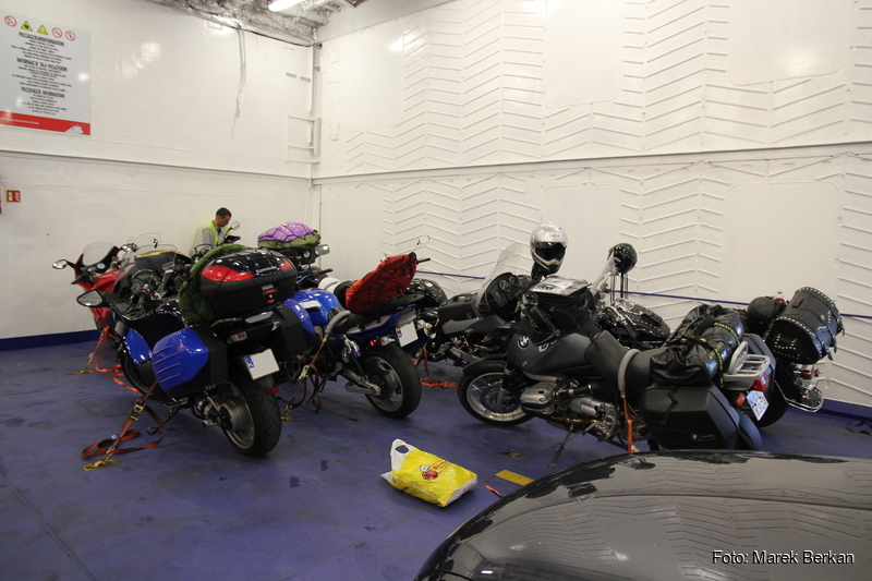 Motocykle na promie
