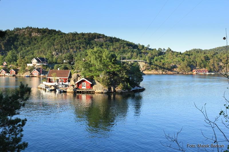 Południowe wybrzeże Norwegii