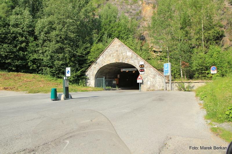 Spiralny tunel w Drammen