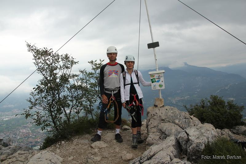Ferrata F. Susatti - szczyt Cima Capi (909 m n.p.m.)