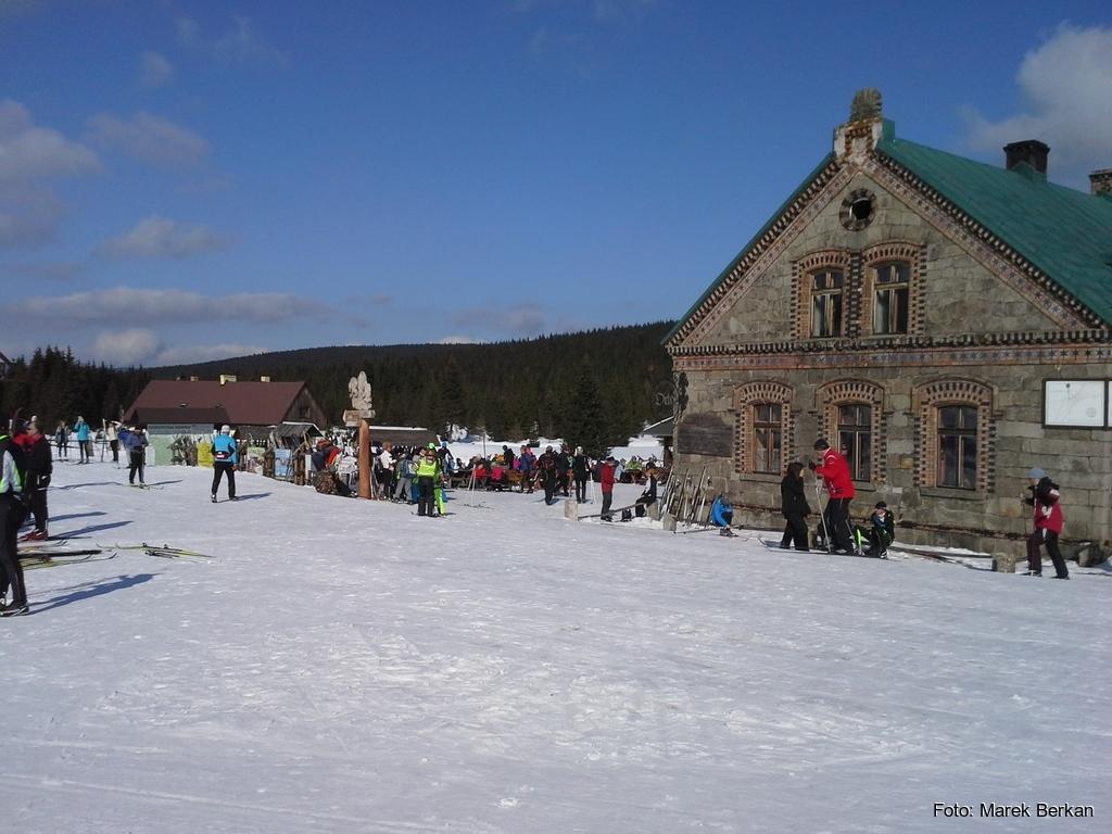 Schronisko Orle - mekka wszystkich narciarzy biegowych