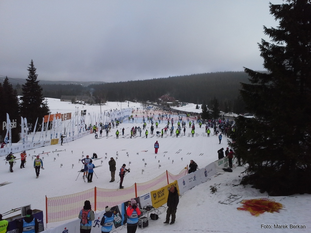 39. Bieg Piastów - polana startowa