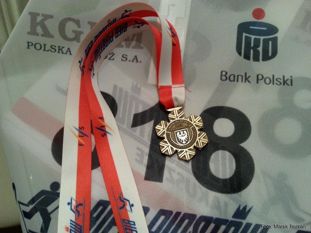 39. Bieg Piastów - medal pamiątkowy