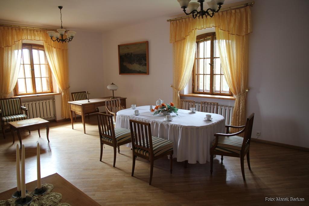 Klasztor Kamedułów - apartament papieski