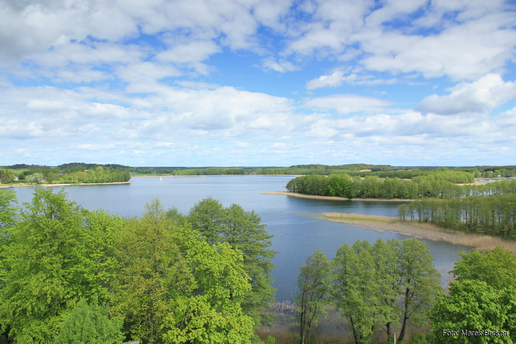 Klasztor Kamedułów - widok na jezioro Wigry