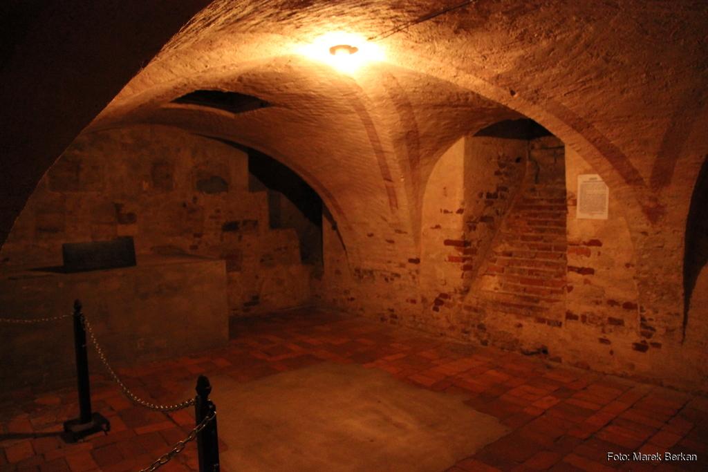 Klasztor Kamedułów - krypta