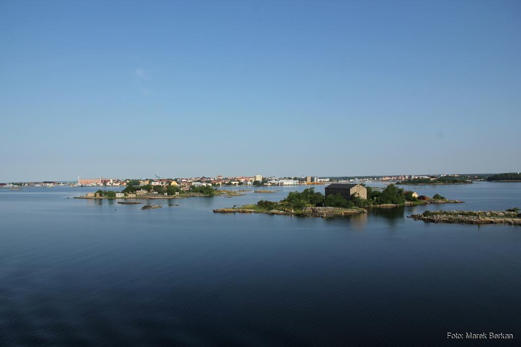 Karlskrona z promu
