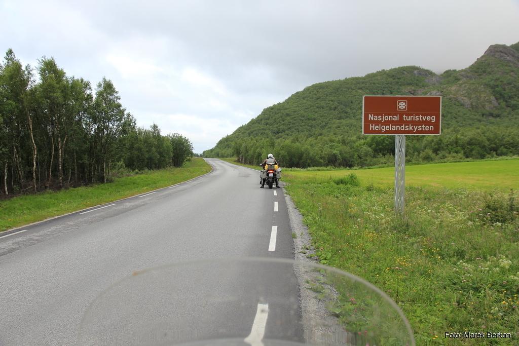 Początek drogi Helgelandskysten