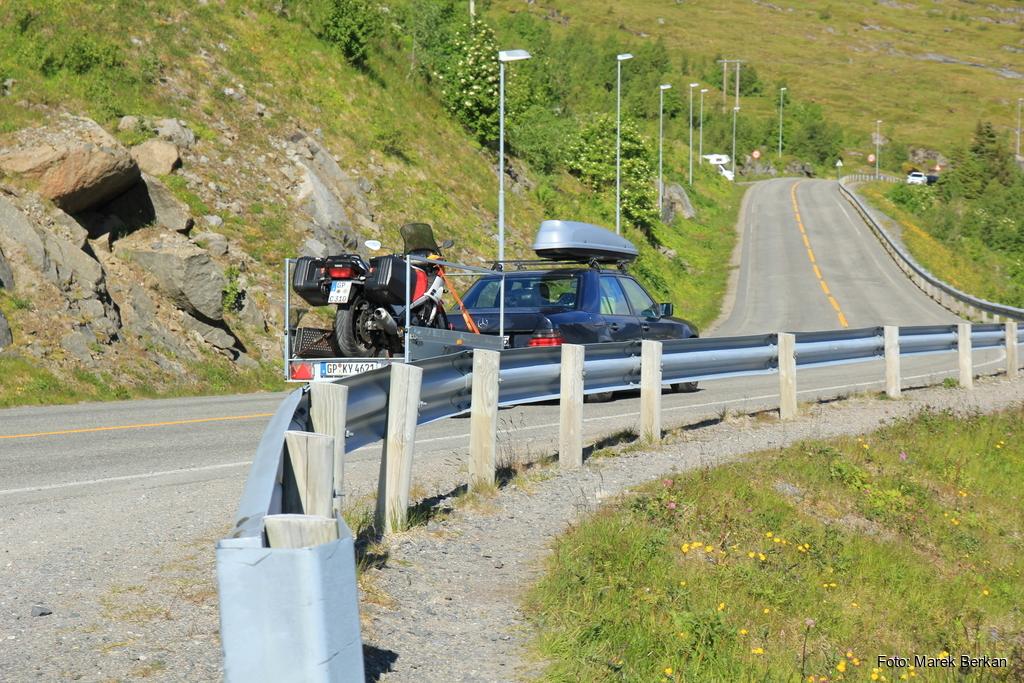 Niemieccy motocykliści w drodze na Nordkapp ;-)