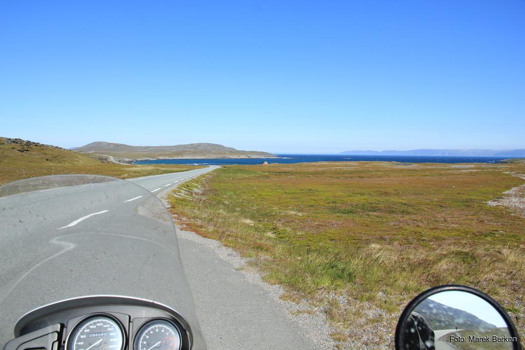 Ostatni odcinek drogi na Nordkapp