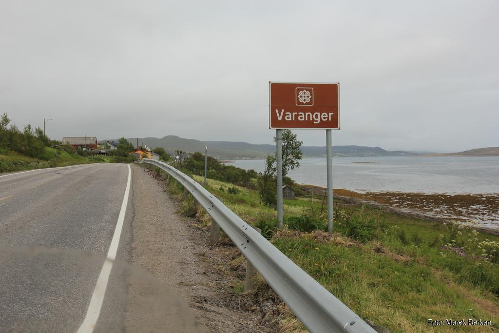 Początek narodowej drogi turystycznej Varanger