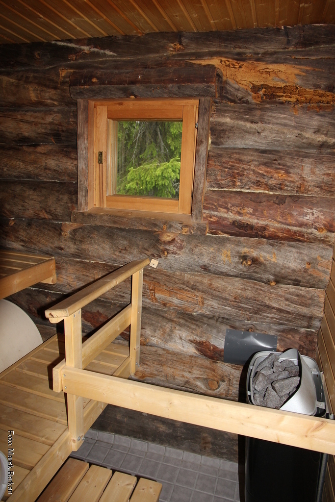... i własną sauną