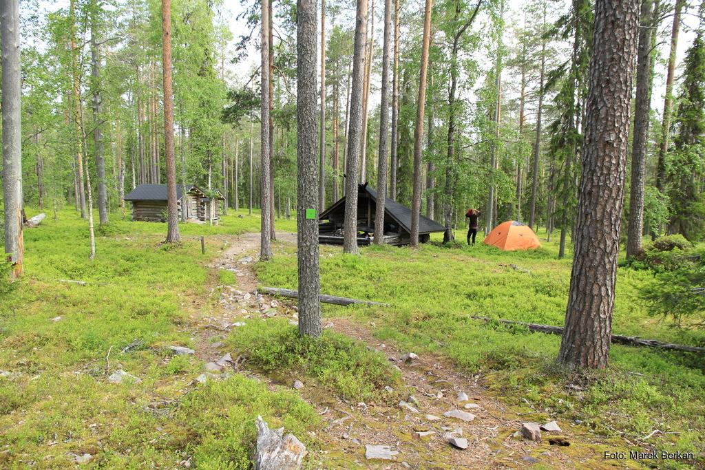 Park Narodowy Pyhä-Luosto - biwak