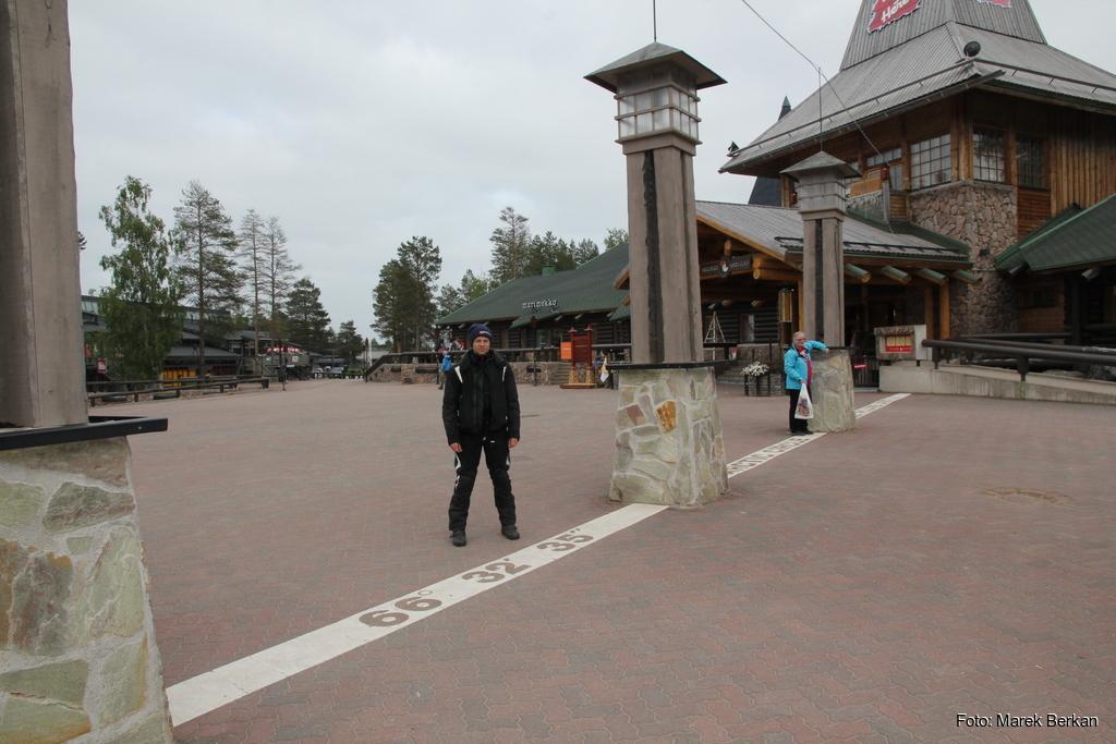 Rovaniemi - granica koła podbiegunowego