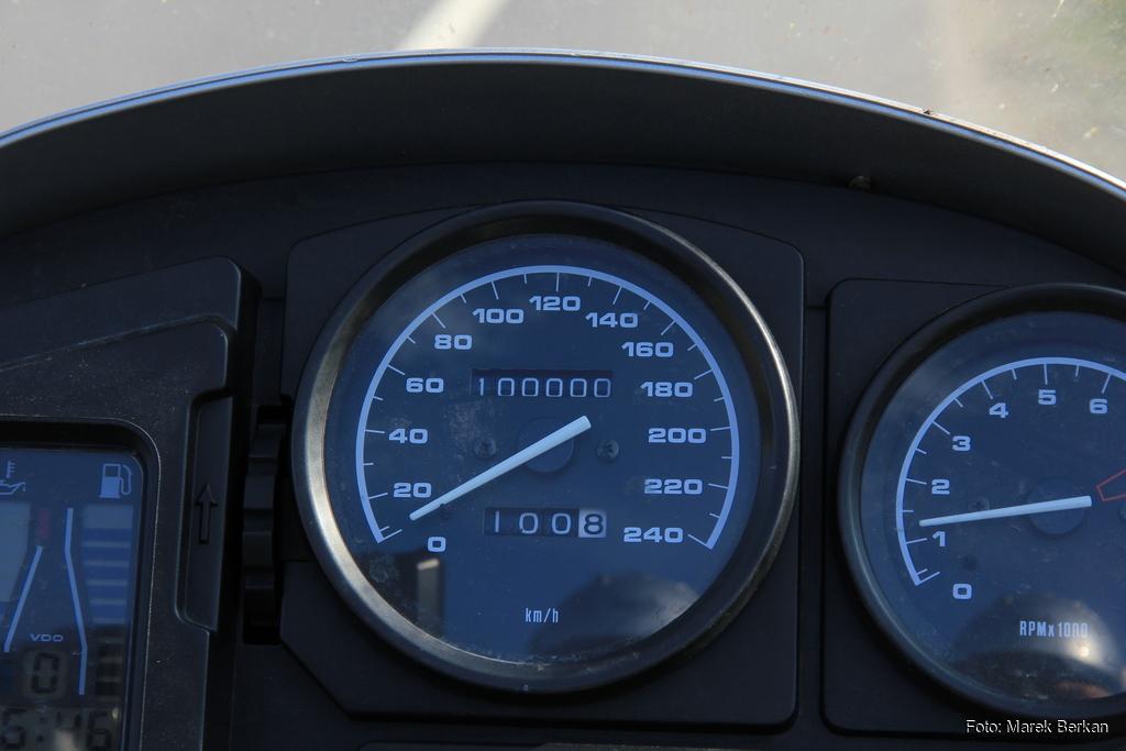 Mój BMW R1150GS zaliczył okrągłe 100 tysięcy kilometrów