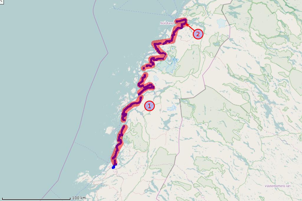 Mapa trasy z dnia 2015-07-07 (wtorek)