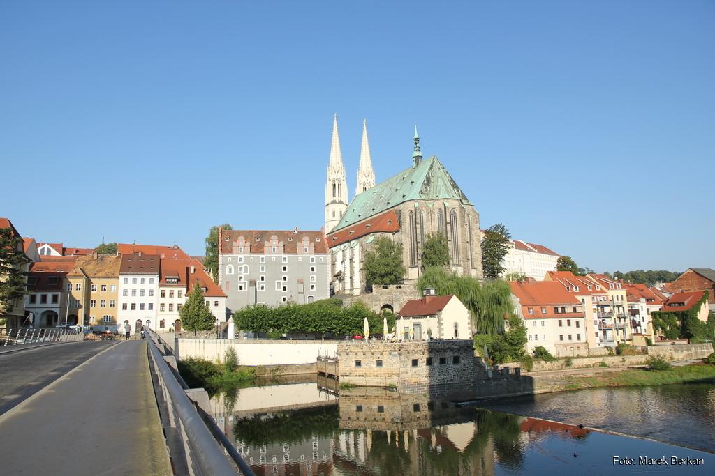 Zgorzelec, widok na niemiecką część miasta