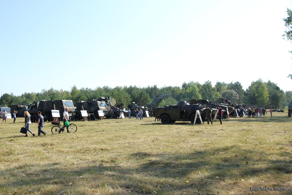 Święto 11 Dywizja Kawalerii Pancernej w Żaganiu