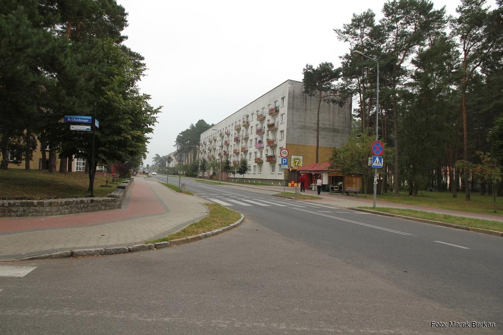 Borne Sulinowo - centrum miasta