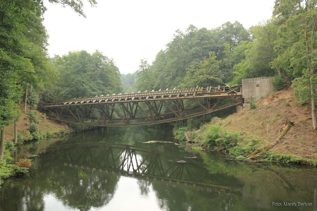 Most na rzece Gwda na drodze 189 koło Jastrowia