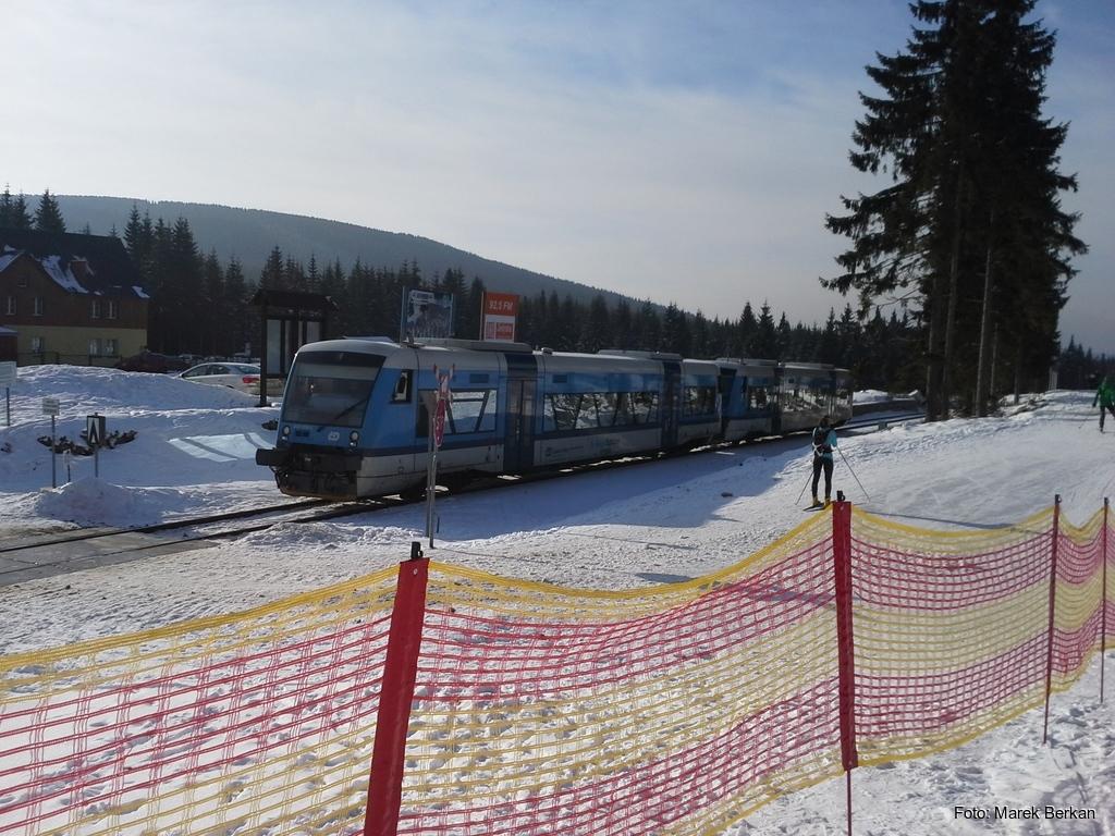 Jakuszyce - czeski pociąg