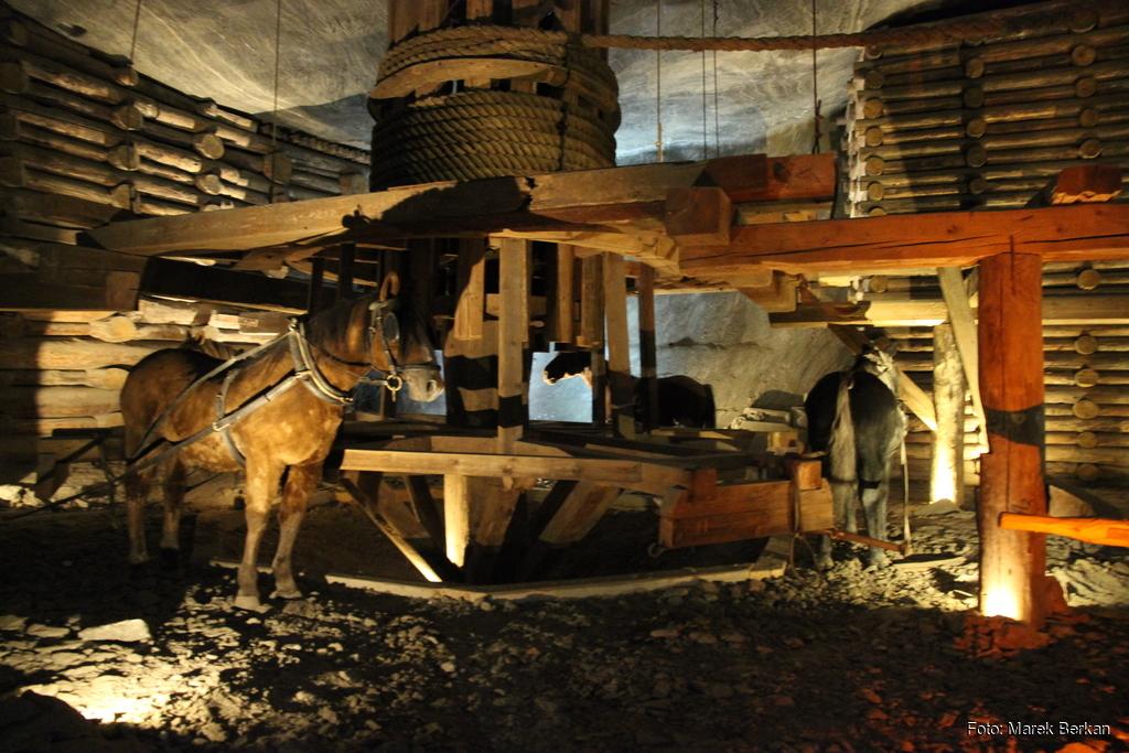 Inscenizacja pracy w kopalni