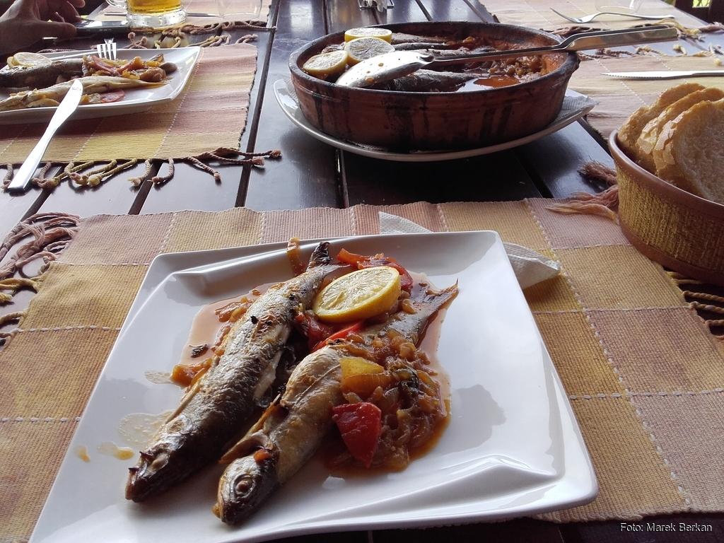 Pogradec - albańska kuchnia