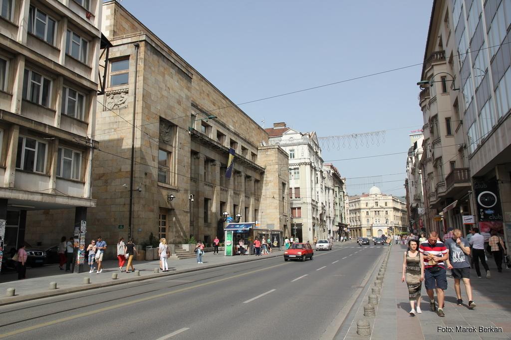 Sarajewo - centrum