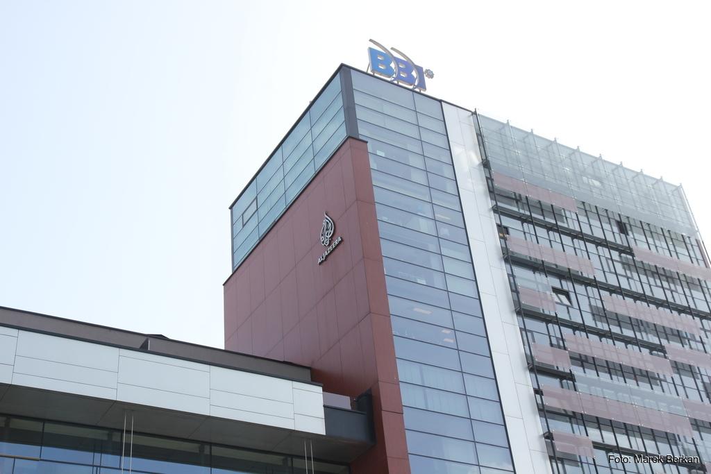 Sarajewo - redakcja telewizji Al-Dżazira